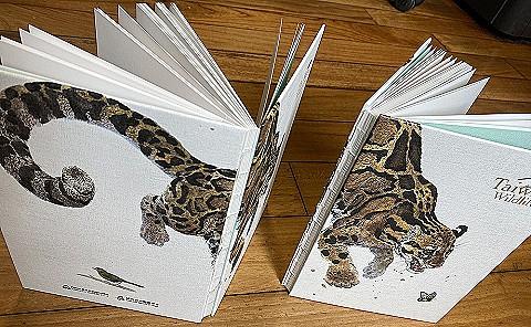 台灣野生保育動物筆記本乙本(限量)
