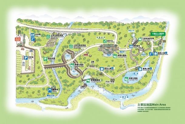Park Map amp Floor Plans Guandu Nature